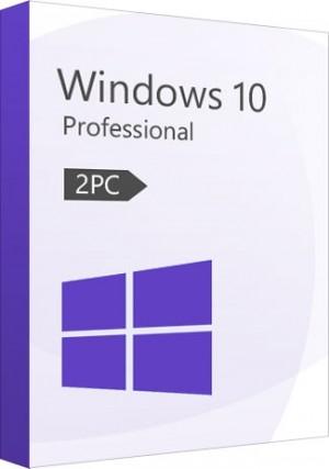 Windows 10 Professional Key (32/64 Bit) (2 PC)