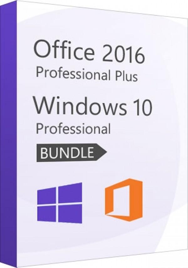 Windows 10 Pro + Office 2016 Pro - Value Package