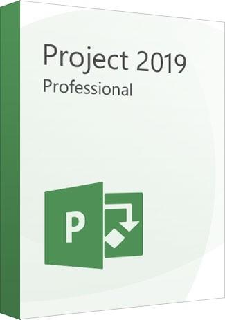 Microsoft Project Professional 2019 1PC