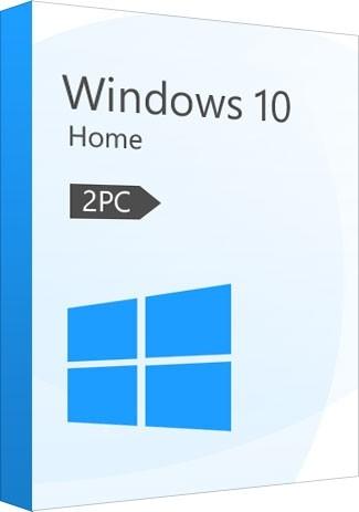 Windows 10 Home Key (32/64 Bit) (2 PC)